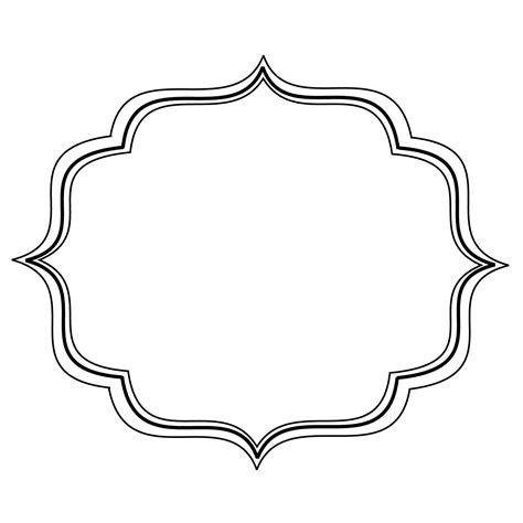 design frame vector simple filigree scroll designs frame image vector clip