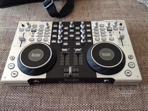 console dj a poco prezzo hercules dj console rmx controller con roma posot class