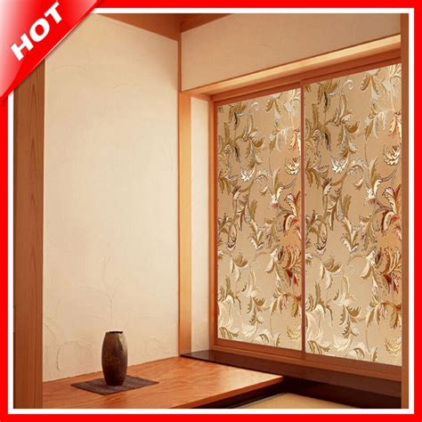 fashion 45 100cm flower stained glass decorative