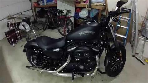 Harley Davidson For Beginners by Harley Davidson Sportster Iron 883 Beginner Rider Review