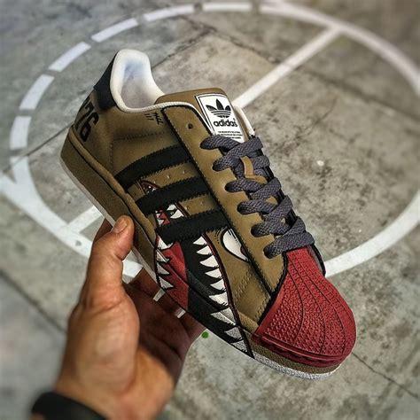 adidas custom custom adidas superstar ii quot warbird quot footwork
