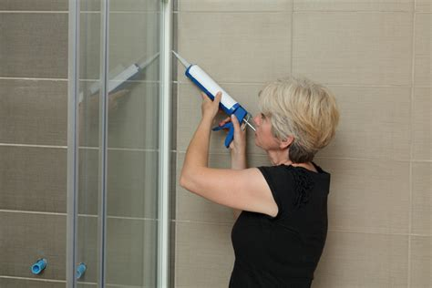 replacing bathroom caulk simple shower solutions how to re caulk your shower