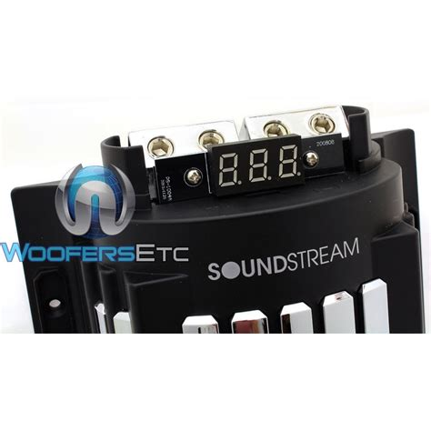 soundstream capacitor review sc 8f soundstream 8 farad capacitor with led voltage display