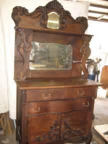 price drop antique 1800s mirror sideboard buffet velma