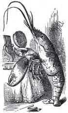 the voice lobster hair grandma s graphics john tenniel english golden age