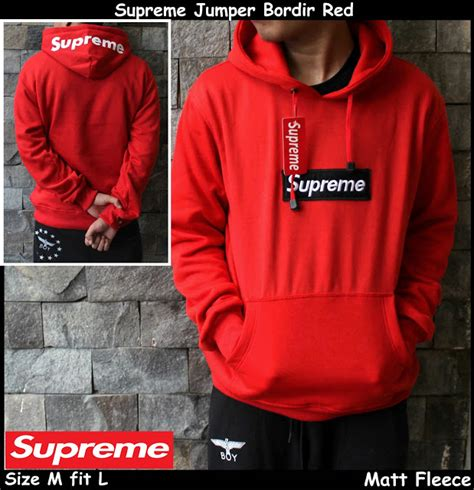 Sweater Dropdead Hoam Maroon dibopissabadi online shop supreme jumper bordir