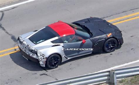 corvette c7 2018 2018 corvette zr1 scooped as 700hp swansong to c7