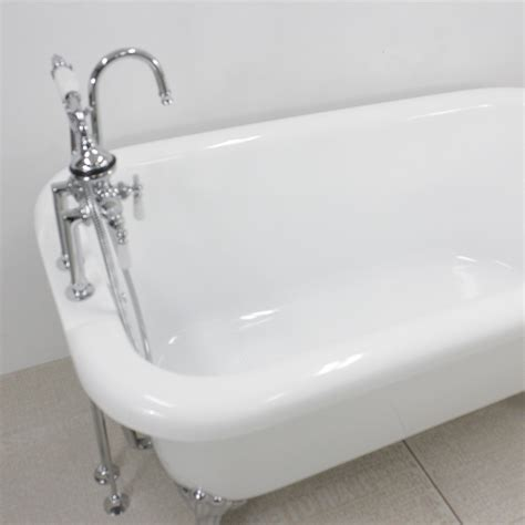 clawfoot bathtub fixtures hlfl53fpk 53 quot hotel collection classic clawfoot tub and