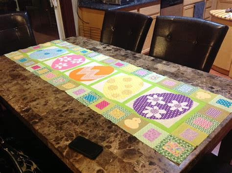 Quilted Easter Table Runner Pattern by Easter Table Runner Msqc Pattern Quot The Big Quot Both For