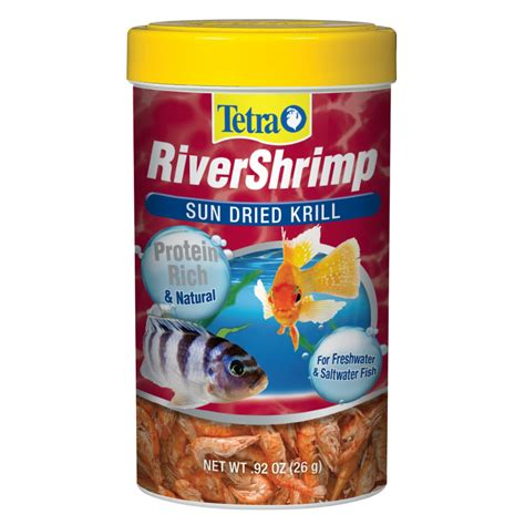 petco treats tetra river shrimp fish food treat petco
