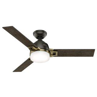 hunter leoni ceiling fan 40 50 inches ceiling fans overstock com