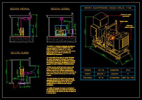 generator dwg block  autocad designs cad