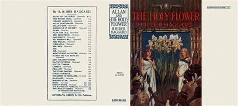 Allan And The Holy Flower allan and the holy flower h rider haggard