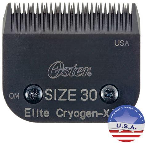 elite cryogenics oster 30 elite cryogen x blade