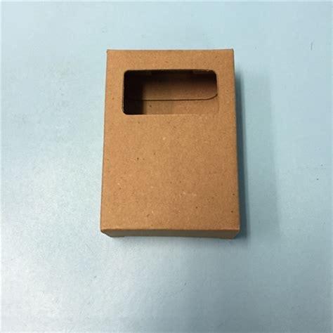 box with window kraft soap box with rectangle window