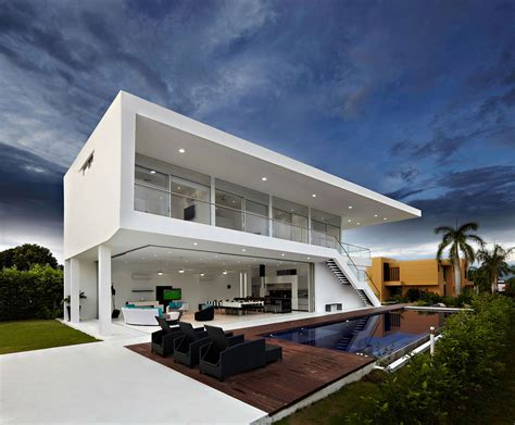 modern house architecture house gm1 by gm arquitectos homedsgn