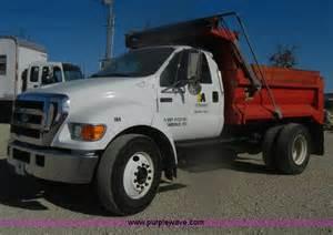 Ford F650 Dump Truck 2004 Ford F650 Xl Duty Dump Truck No Reserve