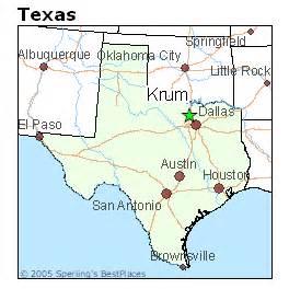 krum map best places to live in krum