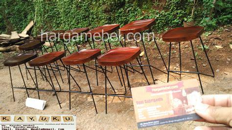 Jual Kursi Bar Batam jual kursi bar besi mebel jepara furniture minimalis