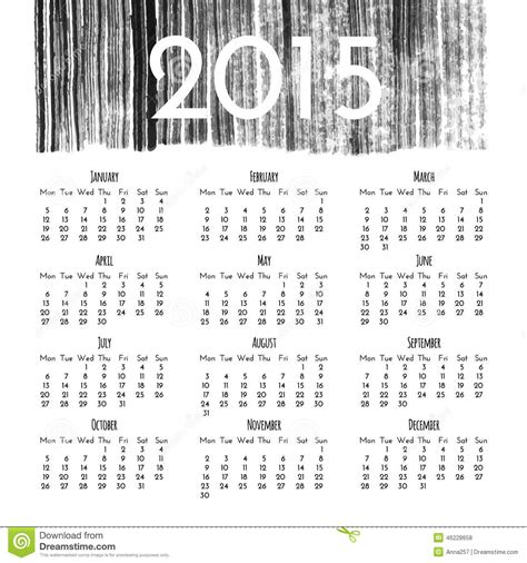 calendar design template vector calendar 2015 design template stock vector image 46228658