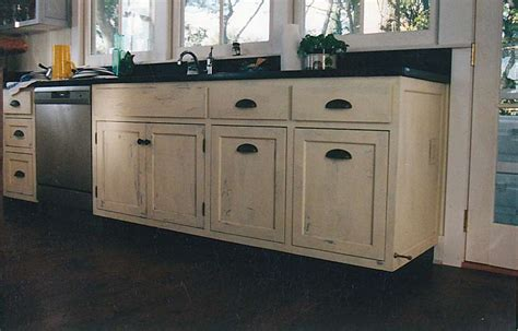 Distressed Kitchen Cabinet distressed kitchen cabinets casual cottage