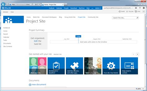 Sharepoint 2013 Screenshots Updated Lifeinsharepoint Sharepoint Site Templates