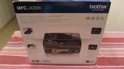 reset impresora brother mfc j430w unboxing multifuncion brother mfc j430w