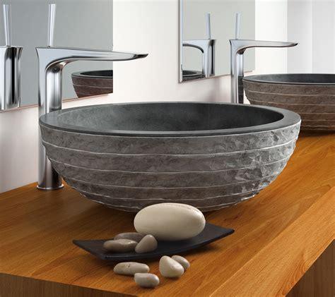 waschbecken aus stein waschbecken rund stein gispatcher