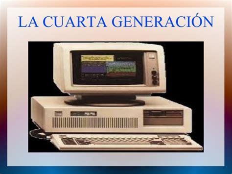 cuarta generacion las seis generaciones de computadoras timeline