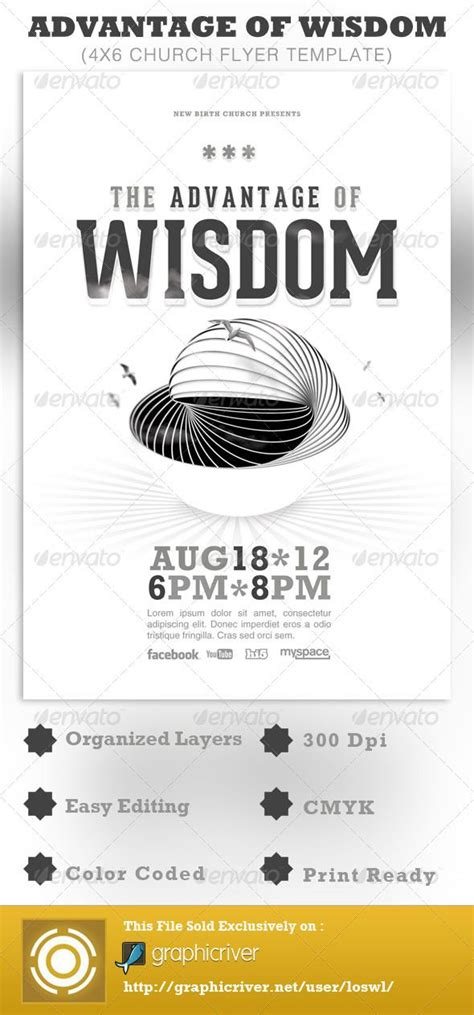 1634 Best Images About Typography Flyer Template On Pinterest Flyer Template Flyers And Movie Template For Church Flyer