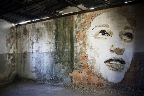 vhils porto unurth street art