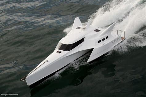 boat financing 0 down wavepiercer trimaran power boats boats online for sale