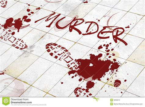 Bathroom Floor Plans Free by Murder Stock Illustration Illustration Of Blood Shoe