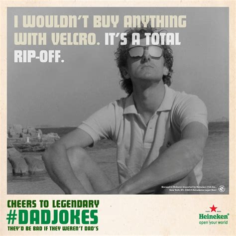 Heineken Meme - heineken celebrates corny dadjokes in father s day