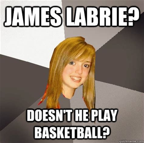 James Labrie Meme - james labrie doesn t he play basketball musically