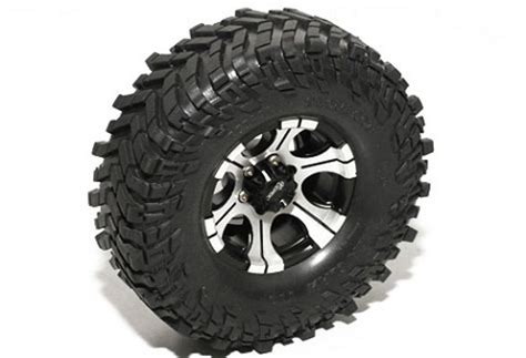 Ready Stok Velg Mickey Thompson R15x8 H61397 For Terrano rc4wd mickey thompson 1 9 quot single baja claw 4 19 quot scale tire