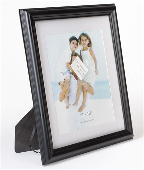 10 x 7 matted frame 8 x 10 picture frames black profile matted