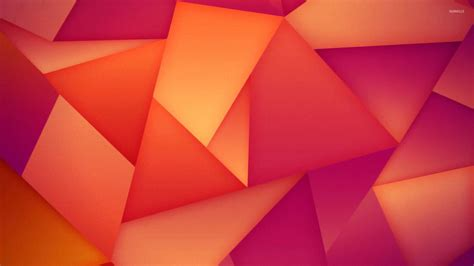 wallpaper pink and orange orange and pink triangles wallpaper digital art