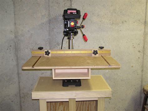drill press table by tjscott lumberjocks