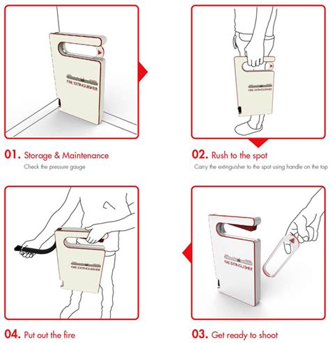 design idea patent the intuitive extinguisher yanko design