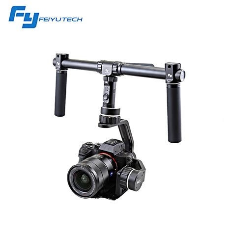 Feiyu Tech Fy Mg V2 3 Axis Gimbal For Mirrorless Black feiyutech new update 3 axis mirrorless gimbal fy mg v2 for s ony nex a7 2 c anon 5d