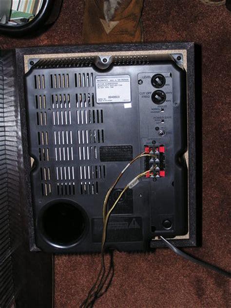 amazoncom sony sa  performance   watt