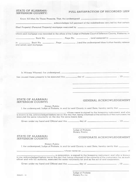 Mortgage Satisfaction Letter Template Satisfaction Of Mortgage Form 13 Free Templates In Pdf Word Excel