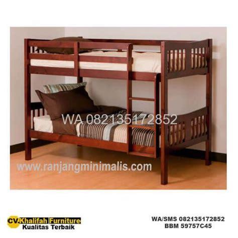 Ranjang Tingkat Minimalis jual ranjang tingkat anak minimalis terbaru dan harga terbaik cv khalifah furniture