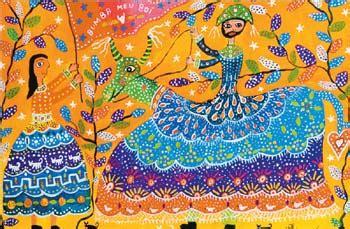 ladario design de arte em arte pinturas do folclore brasileiro e a arte