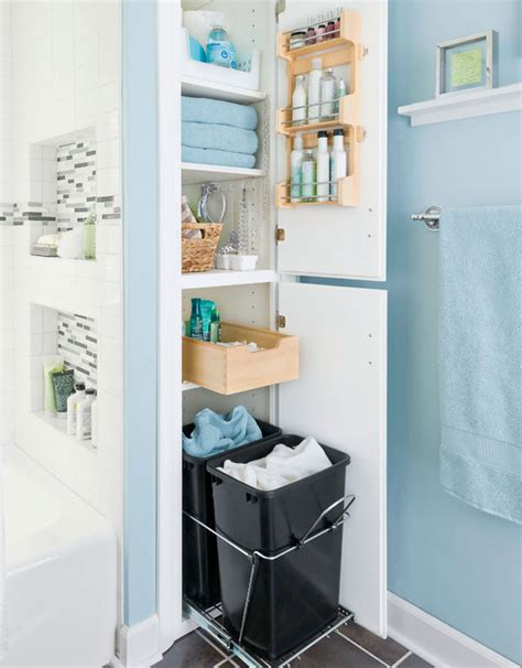 Ideas For Storage In Small Bathrooms 38 Functional Small Bathroom Storage Ideas