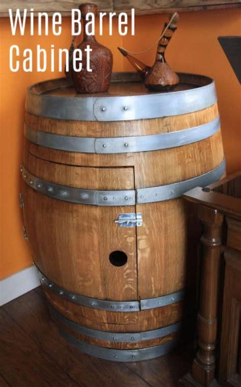 amazing diy ideas   repurposed wine barrels