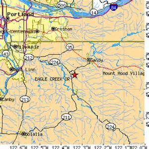 eagle creek oregon or population data races housing