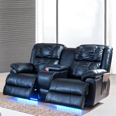 reclining sofa with massage power reclining massage sofa rs gold sofa