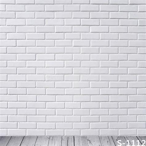 wallpaper dinding bata putih elevenia